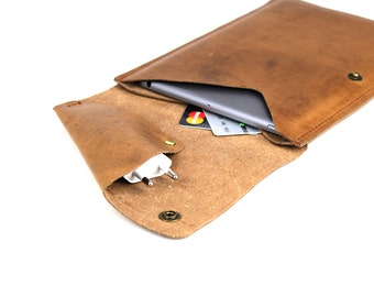 iPad mini / 2 / 3 Sleeve // vintage leather