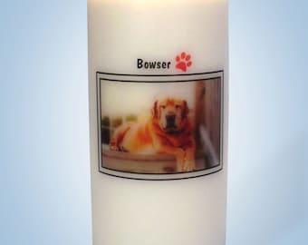 Pet Memorial Candles