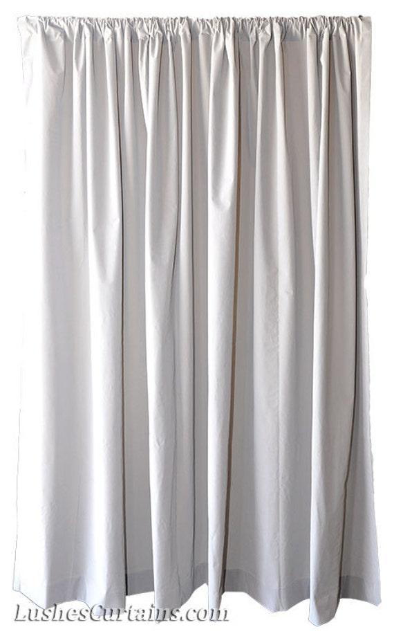 Items Similar To Light Gray Velvet Fabric 72 Inch H Curtain Long Panel Home Living Room Bedroom