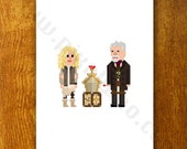 SIGNED Pixel (8 bit) Doctor Who Single Character Card