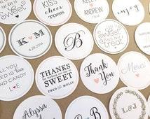 Wedding Favor Donut Bags : ... Bags / Wedding Favor / Cookie Bags / Custom Stickers / Donut Bags
