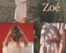 Zoe patron couture