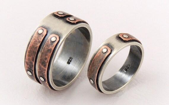 unique wedding band set wedding ring setengagement ringset. Black Bedroom Furniture Sets. Home Design Ideas