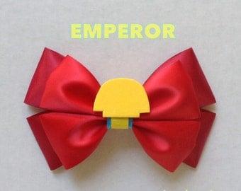 emperor hair bow