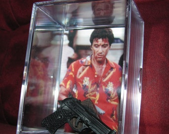 Scarface 9mm Display....Took it from that Cat.......Great Display ...We combine Shipping For All Items