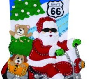 Completed 16in Route 66 Stocking