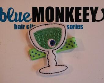 Halloween Goblet Hair Clip