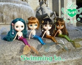 Swimming to... mermaid tail