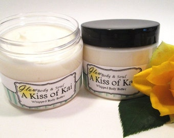 A Kiss of Kai Body Butter Paraben Free Body Butter Lotion