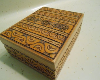 carved German? box