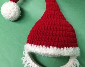 Santa Baby Beard Hat