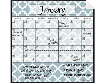 Dry Erase Calendar, Decal Dry Erase, Calendar