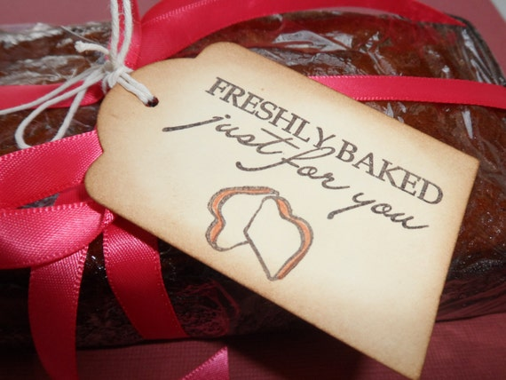 Items similar to freshly baked just for you baked goods for Homemade baked goods for christmas gifts