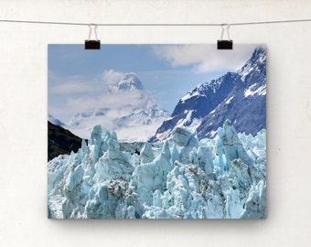 Landscape Photography, Margerie Glacier, Alaska, Mountains, Ice