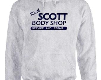 one KEITH SCOTT Body Shop HOODIE ~ Tree Hill Ravens