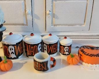 Halloween  Dollhouse Miniature Coffee Mug