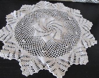Handmade Crocheted Doily
