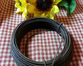 Rusty Tin Wire - 20gauge wire - 30ft