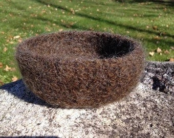 Felted Wool Bowl