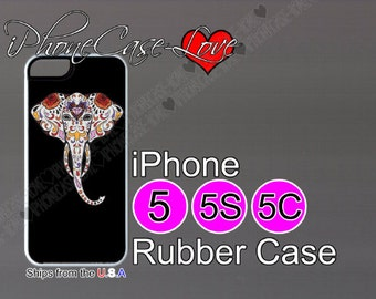 iphone 5 case - iphone 5s case - iphone 5c case -  sugar skull iphone 5 case - sugar skull iphone 5s case  - sugar skull iphone 5c case - S1