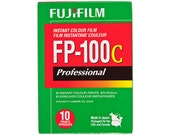 Fujifilm FP-100C Professional Instant Color Film ISO 100 Polaroid 669 Film FP100C Fuji - polaroid land camera instant film