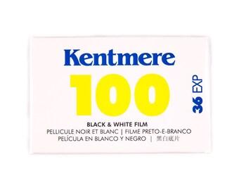 Kentmere Fine Grain Medium Speed Black & White Negative Film ISO 100, 35mm Size, 36 Exposure, black and white photography