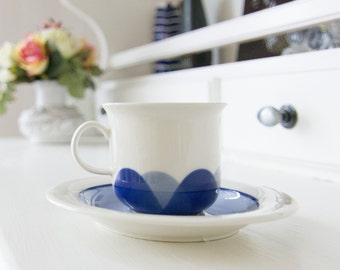 Arabia Finland Pudas Arctica Cup and Saucer set by Inkeri Leivo