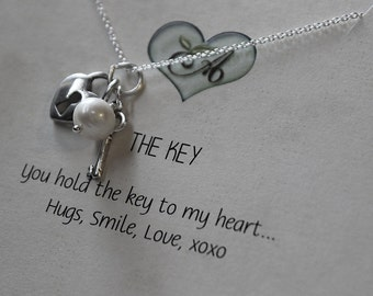 The Key Love Necklace