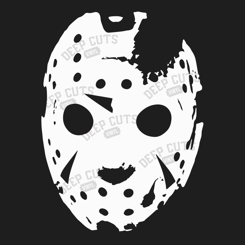 Friday the 13th Mask Vinyl Sticker