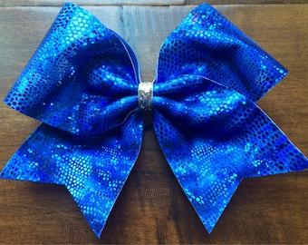 Cheer Bow - Royal Blue