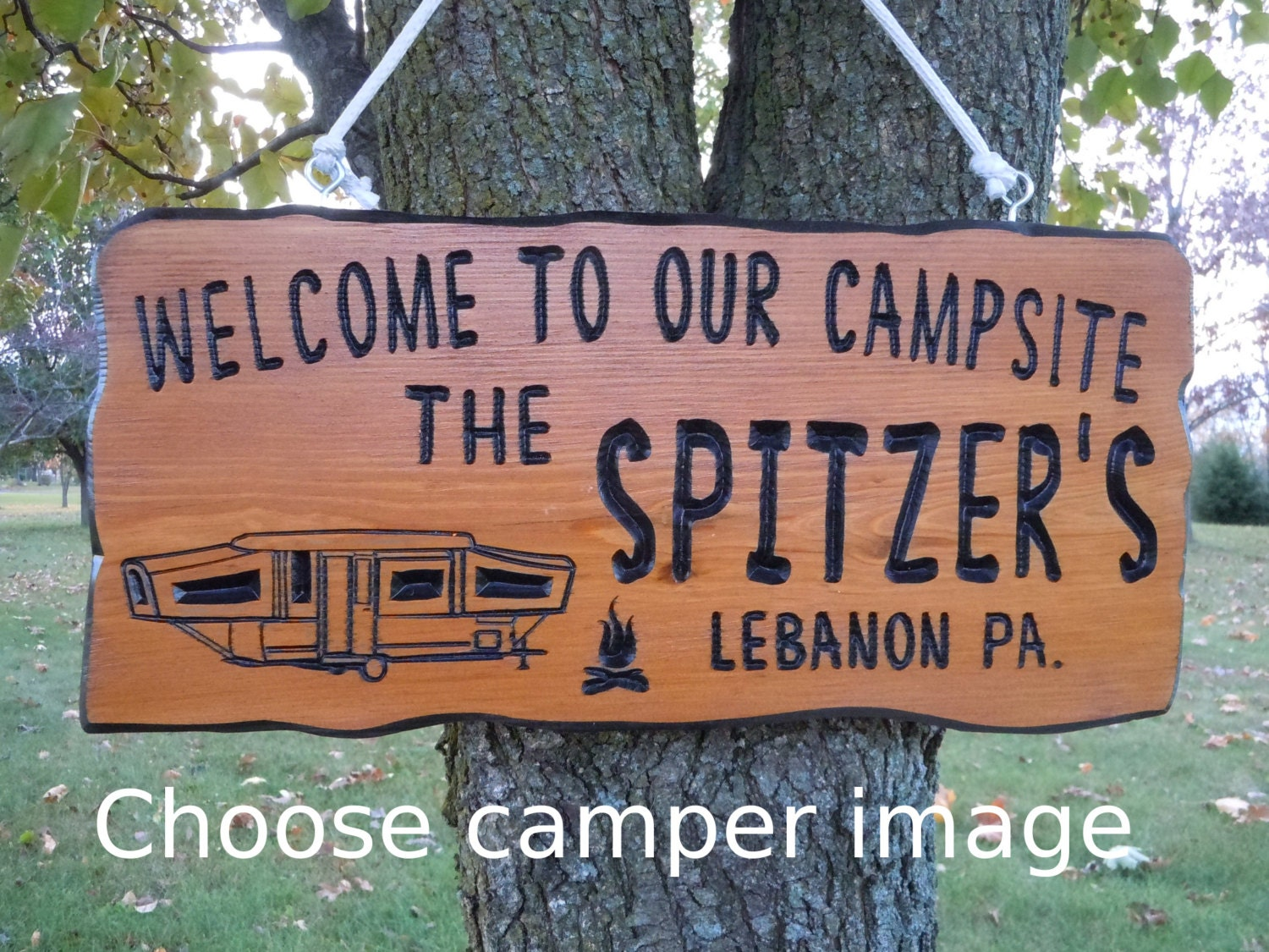 Family Camping Signs Personalized Bing Images