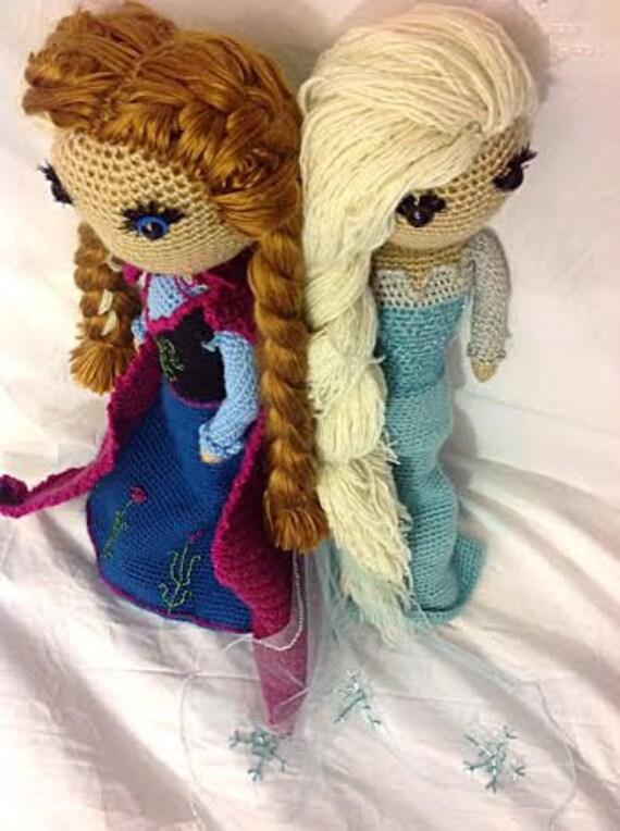 Elsa And Anna Frozen Crochet Pattern From