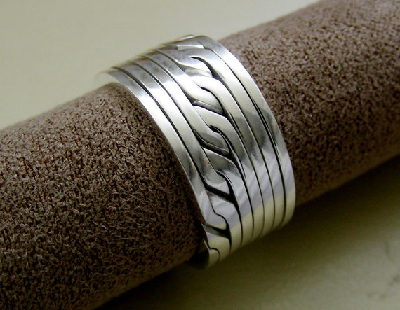ronring 8 unique puzzle rings by puzzleringmaker sterling