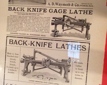 Vintage ad from Woodworker Magazine