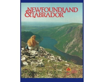 "NEWFOUNDLAND & LABRADOR Original 1991 Vintage Color Print Ad - Travel and Tourism Booklet ""A World of Difference"""