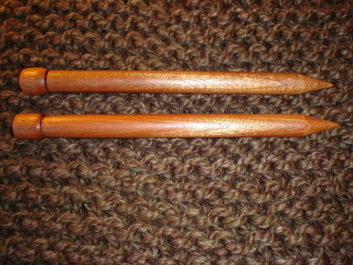 Wooden Knitting Needles : Handmade Wood Knitting Needles Size 35 20mm by CottageLooms