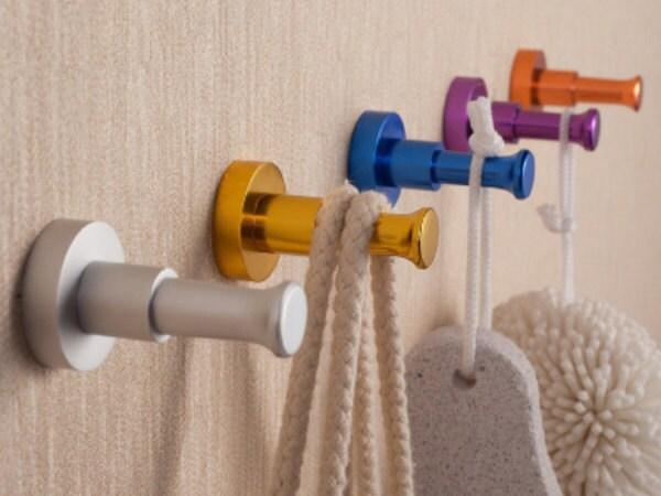 Colorful Hook Decorative Hooks Wall Hooks Metal Hooks Coat
