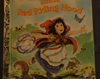 The Little Golden Book, Little Red Riding Hood , Vintage 1965, Great Collectible Book, Golden Books. Children's Books. Collectible Book