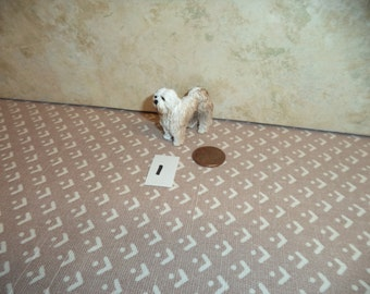 1:12 scale  Dollhouse Miniature dogs 5 to choose