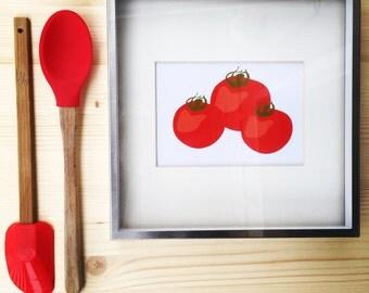 Vegetable Prints Set of 6 (8.5 x 11)