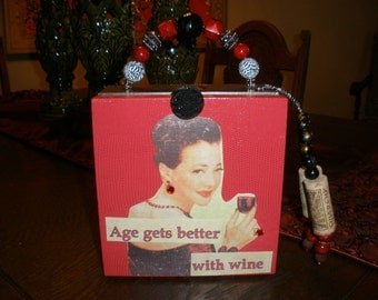 Cigar Box Purse, Rocky Patel, Wine Themed, Authentic, Tampa, New #601
