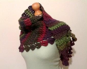 Unique Crochet Scarf Etsy