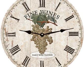 Wine Clock- Wine Wall Clock