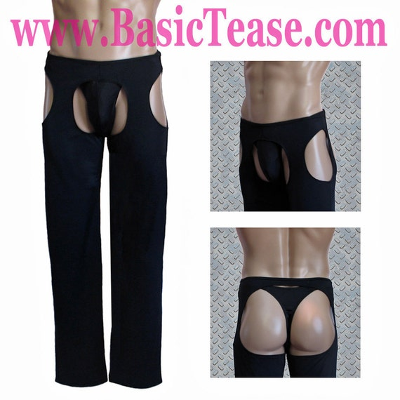 Sexy Man Chaps for Male Strippers or Risque Costume