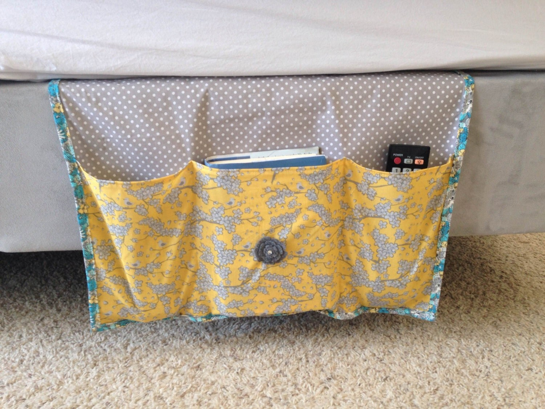 Bed Caddy Bed Organizer Girls Bedside Caddy Bedside