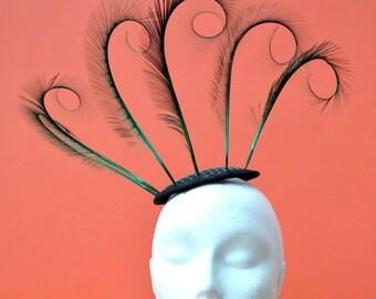 Claudia: Feather Fasinator