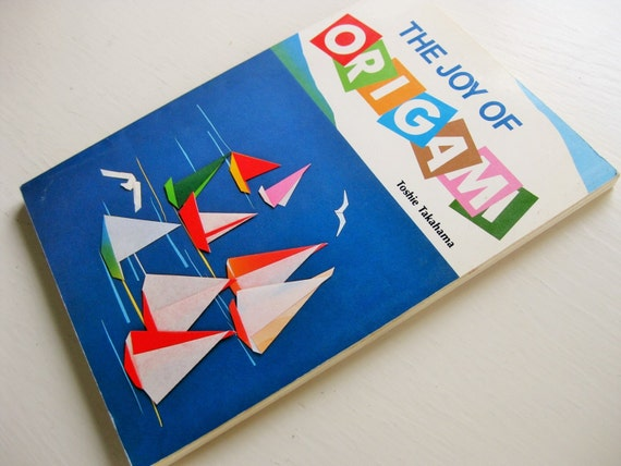 "1988 ""The Joy of Origami"" by Toshie Takahama"