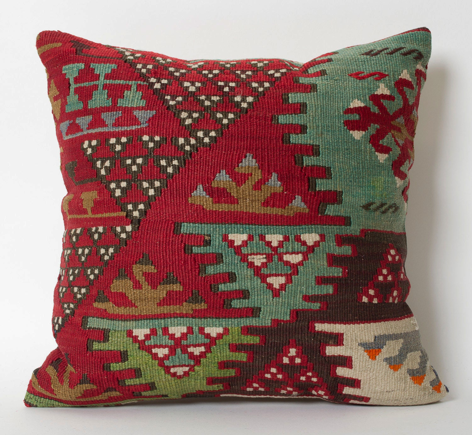 Decorative Pillows Kilim : Kilim Pillow Cover Decorative Kilim Pillows Tribal Pillow