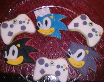 Sonic, Shadow, video game cookies