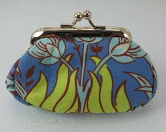 Coin purse in blue